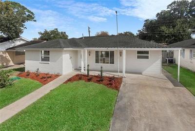 Metairie Single Family Home For Sale: 1413 Bullard Avenue