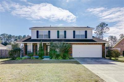 Slidell Single Family Home For Sale: 304 Butternut Drive
