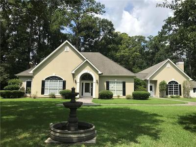 Madisonville LA Single Family Home For Sale: $474,900