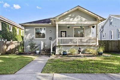Lakeview Single Family Home For Sale: 6461 Canal Boulevard