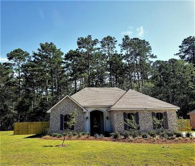 Madisonville LA Single Family Home For Sale: $286,650