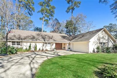 Single Family Home For Sale: 777 Bocage Lane