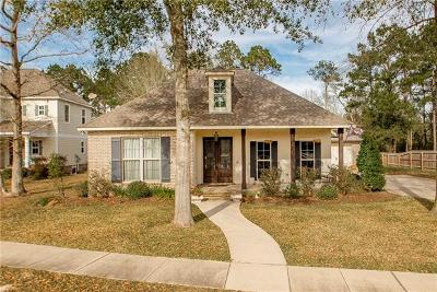 Madisonville Single Family Home For Sale: 162 Pine Creek Drive