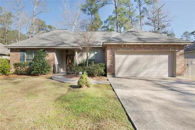 Mandeville Single Family Home For Sale: 937 Preval Street