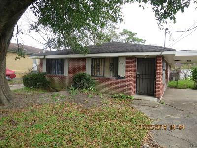 New Orleans Single Family Home For Sale: 2308 Kraft Place