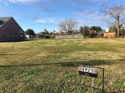Metairie Residential Lots & Land For Sale: 4925 Newlands Street