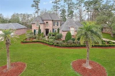 Madisonville Single Family Home For Sale: 305 Pencarrow Circle