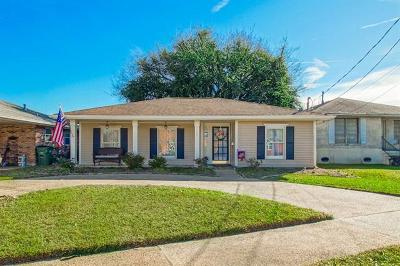 Metairie Single Family Home For Sale: 3809 Kent Avenue