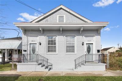 Single Family Home For Sale: 3035-37 Maurepas Street