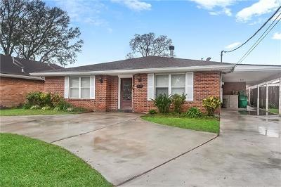 Metairie Single Family Home For Sale: 4824 Jeannette Drive