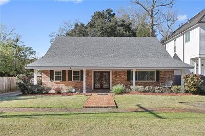 River Ridge, Harahan Single Family Home For Sale: 270 Midway Drive