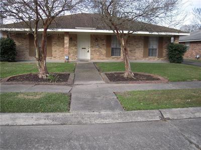 Single Family Home For Sale: 5430 Lacour Monique Street