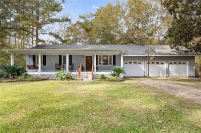 Covington Single Family Home For Sale: 20187 Lowe Davis Road