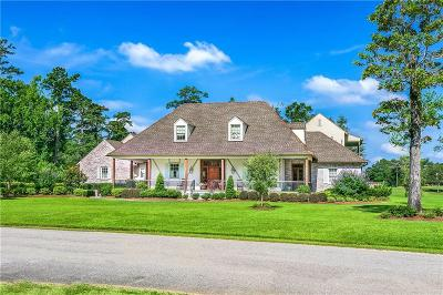Covington LA Single Family Home For Sale: $1,740,000