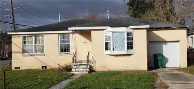 Marrero Single Family Home For Sale: 7432 Rachel Street