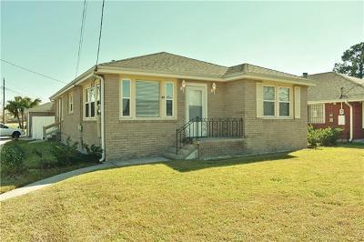 Marrero Single Family Home For Sale: 801 Garden Road