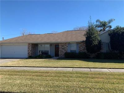 Marrero Single Family Home For Sale: 3817 Hillcrest Drive