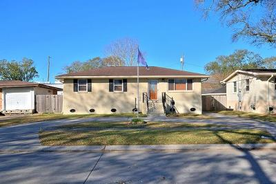 Metairie Single Family Home For Sale: 2324 Mississippi Avenue