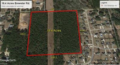 Madisonville Single Family Home For Sale: 18.41 Ac Brewster Road