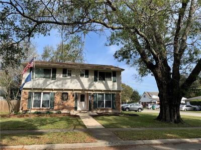 Metairie Single Family Home For Sale: 6601 Wilty Street