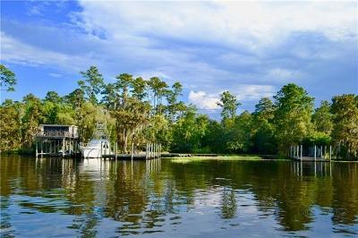 Madisonville Single Family Home For Sale: Tchefuncte River Road