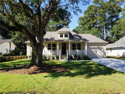 Mandeville LA Single Family Home For Sale: $330,000
