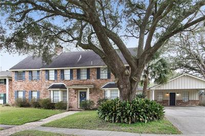 New Orleans Single Family Home For Sale: 5444 Durham Drive