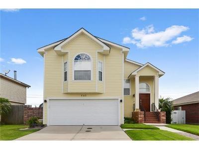 Gretna Single Family Home For Sale: 757 Dory Drive