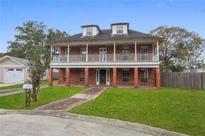 River Ridge, Harahan Single Family Home For Sale: 9712 Gloxinia Circle