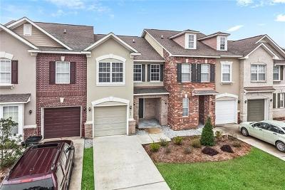 Madisonville Townhouse For Sale: 182 White Heron Drive