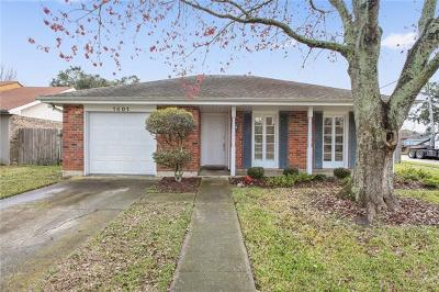 Kenner Single Family Home For Sale: 1401 Montana Avenue