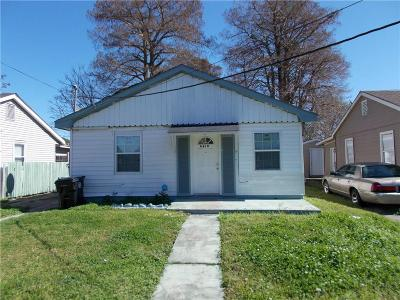 Single Family Home For Sale: 4819 Touro Street