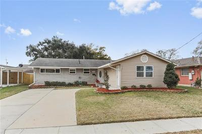 Metairie Single Family Home For Sale: 3612 Haring Road