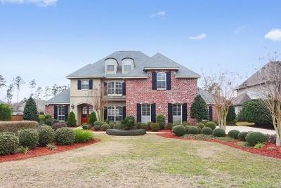 Mandeville Single Family Home For Sale: 134 Morningside Drive