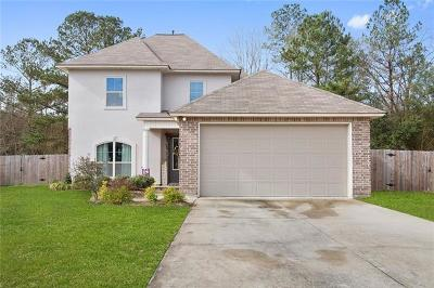 Madisonville Single Family Home For Sale: 313 Coconut Palm Drive