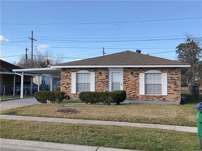 Marrero Single Family Home For Sale: 2736 Erin Drive
