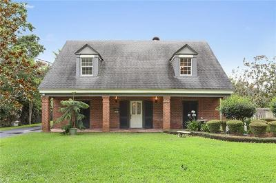 River Ridge, Harahan Single Family Home For Sale: 301 Ripple Road