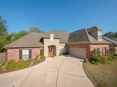 Madisonville Single Family Home For Sale: 625 Fox Branch Crossing Drive