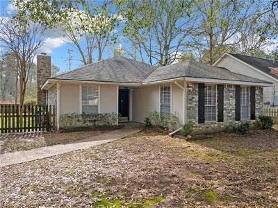 Covington Single Family Home For Sale: 32 Shady Oaks Drive