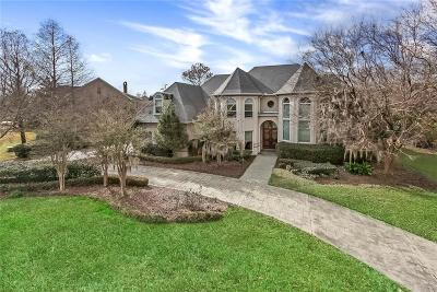 Single Family Home For Sale: 85 English Turn Drive