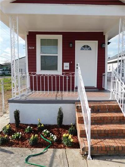 Single Family Home For Sale: 3604 General Ogden Street