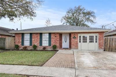 Kenner Single Family Home For Sale: 3105 Tennessee Avenue