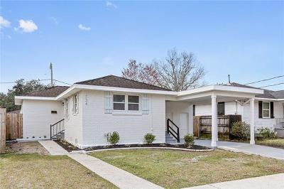 Metairie Single Family Home For Sale: 324 Montgomery Avenue