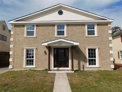 Single Family Home For Sale: 8411 Aberdeen Road