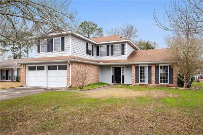 Slidell Single Family Home For Sale: 105 Cedarwood Drive