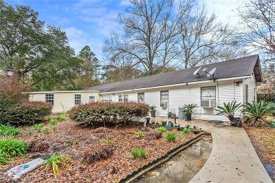 Covington Single Family Home For Sale: 71211 Bay Drive