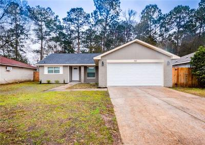 Slidell Single Family Home For Sale: 215 S Queens Drive