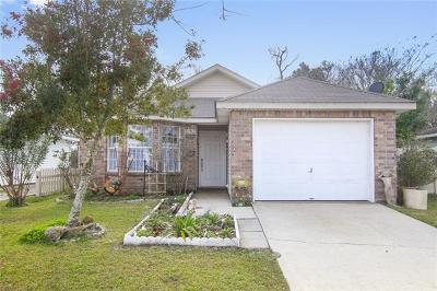 Marrero Single Family Home For Sale: 4624 Bayou Des Families Drive