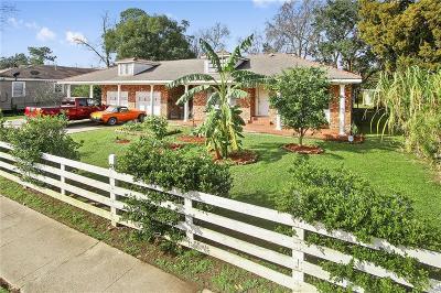 Jefferson Parish, Orleans Parish Multi Family Home For Sale: 1323 Pace Boulevard