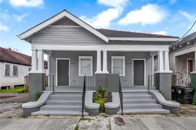 Jefferson Parish, Orleans Parish Multi Family Home For Sale: 5208 Burgundy Street